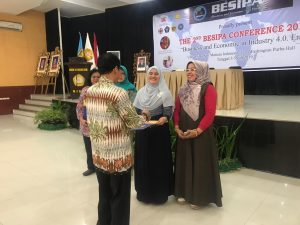 SRIKANDI FEB UNTIRTA PEMENANG BEST PAPER THE 2nd BESIPA CONFERENCE
